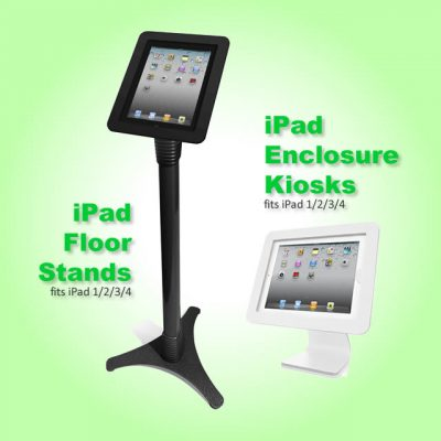 iPad stand and kiosk for rent