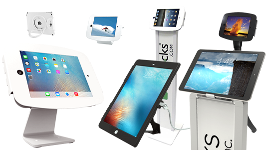 iPad stands lineup - smart, secured, essential