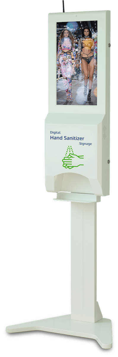 Digital Hand Sanitizer Signage